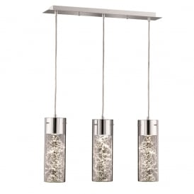 Frenzy Modern LED Ceiling Pendant Light With Decorative Wire FL2332/3