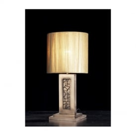 GAR4364 Garbo Table Lamp with Gold Shade