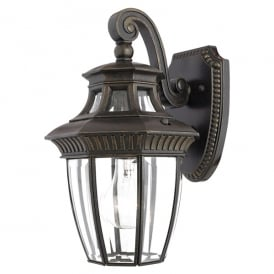 Georgetown Outdoor Small Wall Lantern In Imperial Bronze Finish QZ/GEORGETOWN2/S
