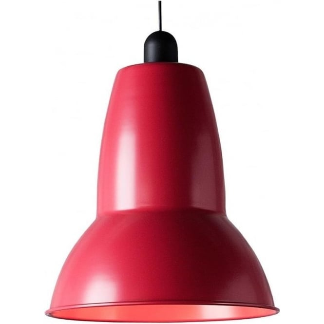 Anglepoise Giant 1227 VIVID Pendant, Raspberry Red
