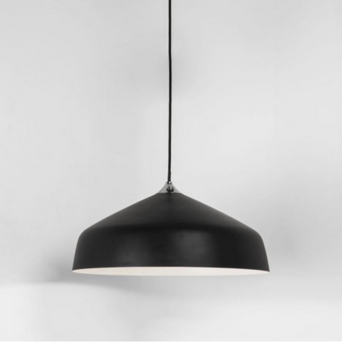 Astro Lighting Ginestra Metal Ceiling Pendant Light Black Finish 7456