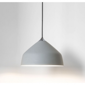 Ginestra Metal Ceiling Pendant Light Grey Finish 7520