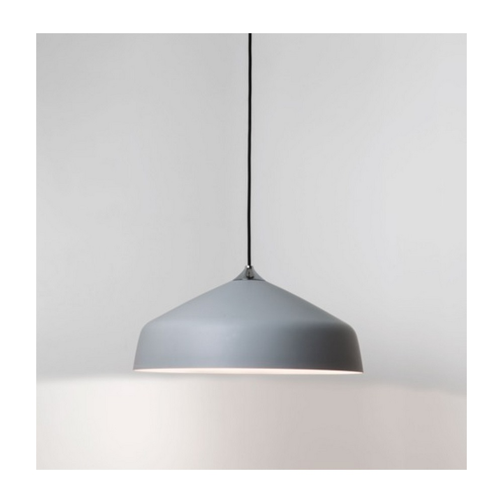 Ceiling Lights Grey : Astro lighting ginestra metal ceiling pendant light grey