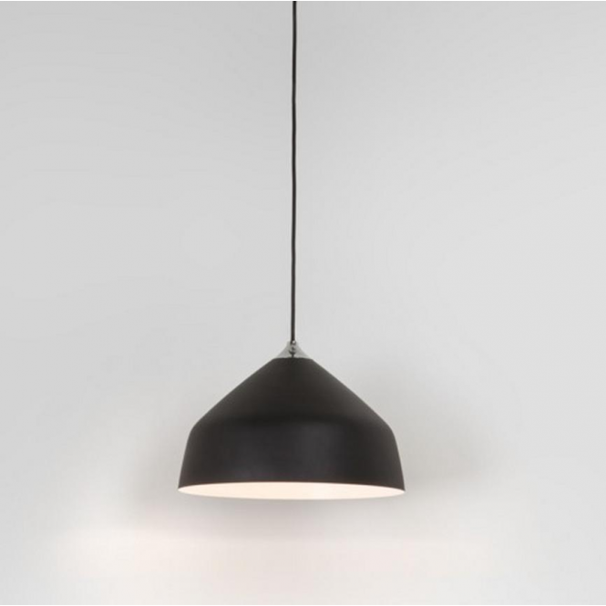 Astro Lighting Ginestra Metal Ceiling Pendant Light in Black Finish 7455