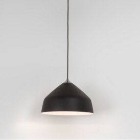 Ginestra Metal Ceiling Pendant Light in Black Finish 7455