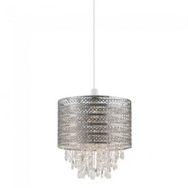 Harewood Non Electric Ceiling Pendant Light in Chrome Finish NE-HAREWOOD-CH
