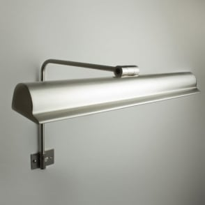 Harvard 50cm Frame Mounted Picture Light Brushed Nickel
