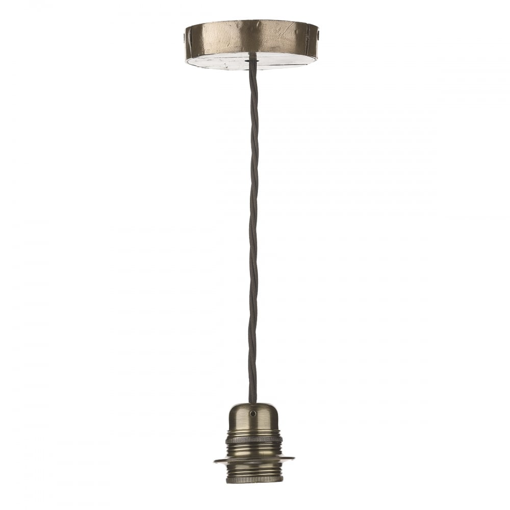 Huckleberry ceiling pendant light fitting in bronze finish huc0163