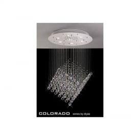 IL30783 Colorado 7 Light Crystal Ceiling Pendant