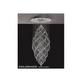 IL30784 Colorado 9 Light Crystal Ceiling Pendant