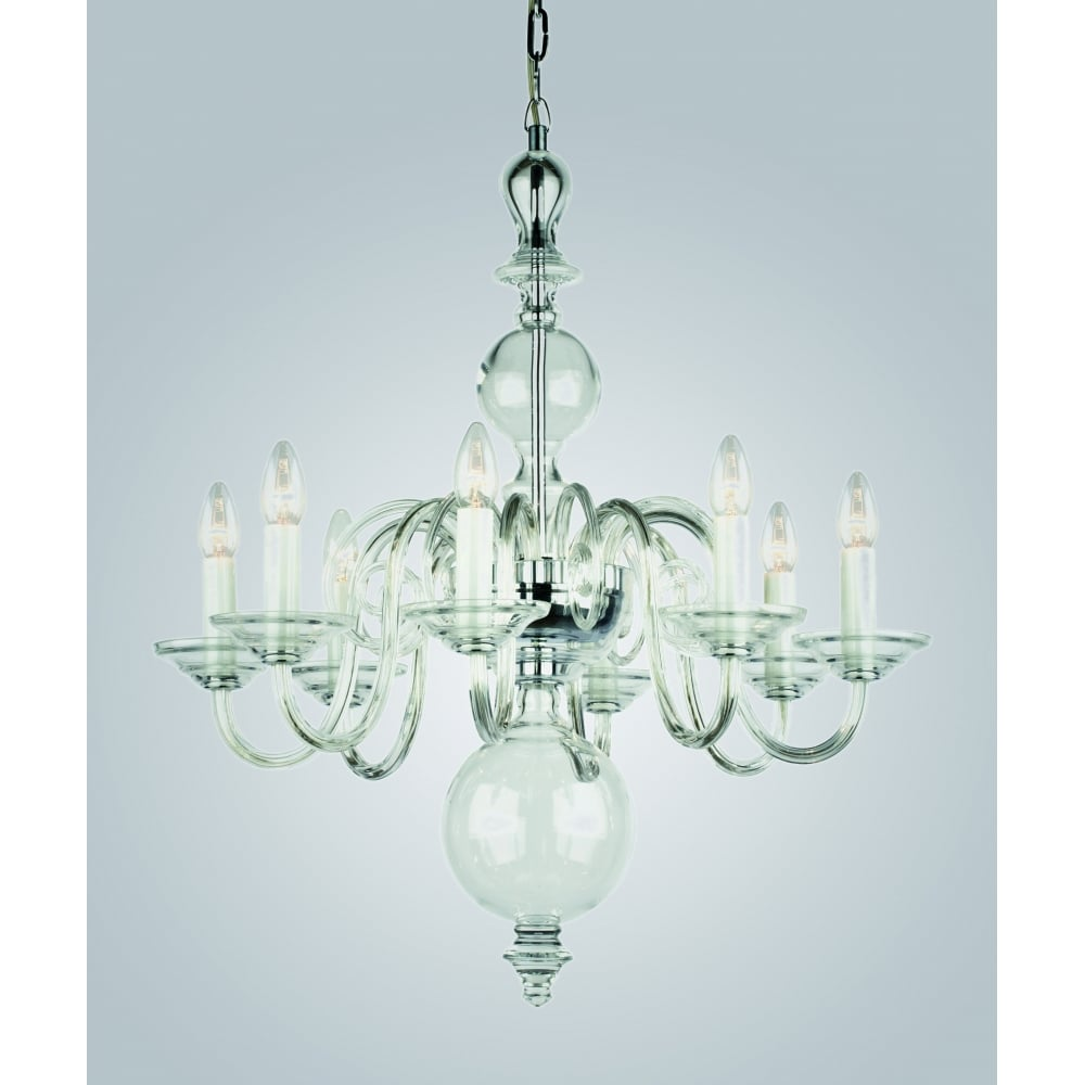 Salas Crystal Bohemian 8 Lt Clear Glass Chandelier CB05519/08/CLR  sc 1 st  The Home Lighting Centre & Impex Lighting Salas Crystal Bohemian 8 Lt Clear Glass Chandelier ...