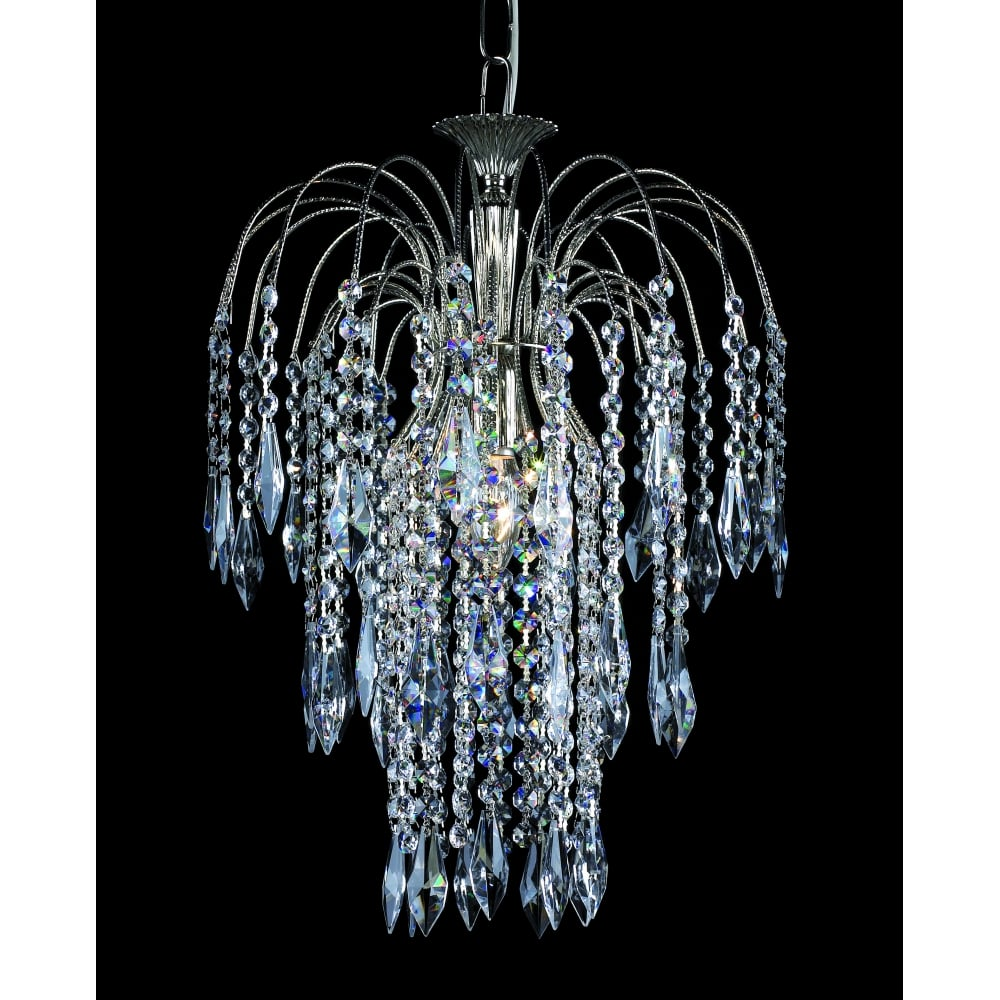 Impex lighting shower 35 cm crystal waterfall chandelier st0190035 shower 35 cm crystal waterfall chandelier st019003501 aloadofball Gallery