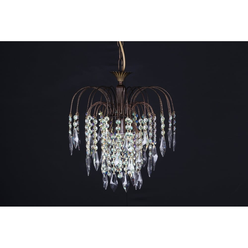 Impex lighting shower 35cm rainbow crystal waterfall chandelier shower 35cm rainbow crystal waterfall chandelier st022003501 aloadofball Gallery