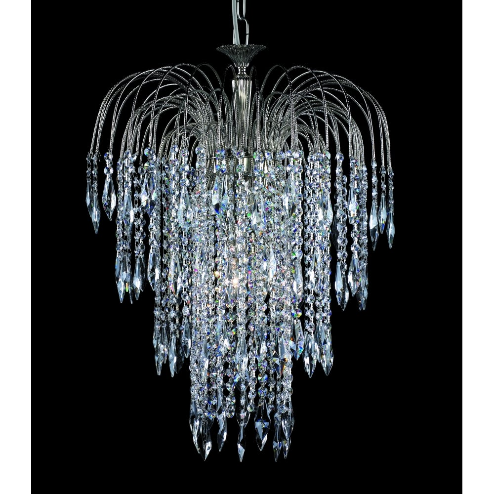 Impex lighting shower 47 cm crystal waterfall chandelier st0190047 shower 47 cm crystal waterfall chandelier st019004706 aloadofball Gallery