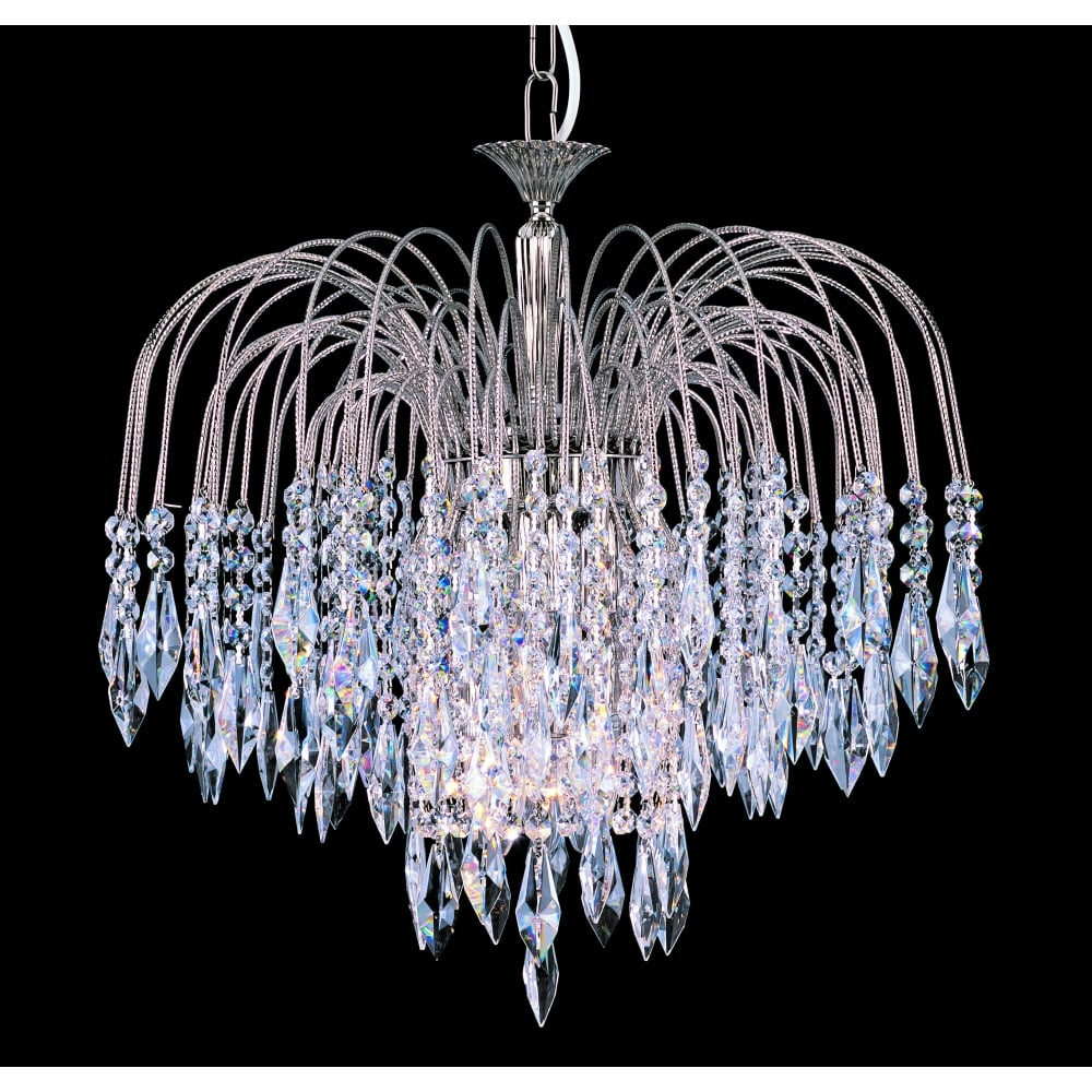 Impex lighting shower 47cm crystal waterfall chandelier st0200047 shower 47cm crystal waterfall chandelier st020004706 aloadofball Gallery
