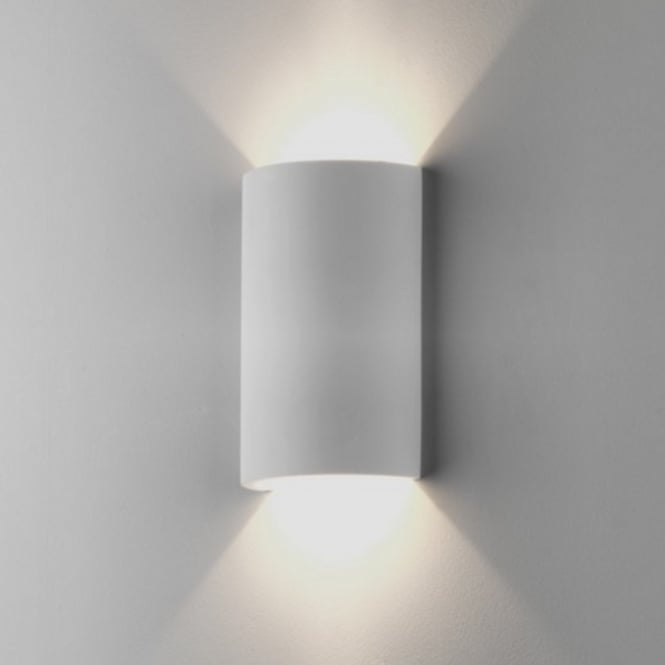 Astro Lighting Indoor Wall Light in White Plaster Finish SERIFOS 7909