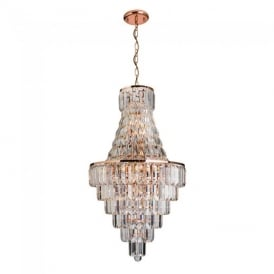 Innsbruck Modern 18 Light Asfour Crystal Ceiling Chandelier 61150