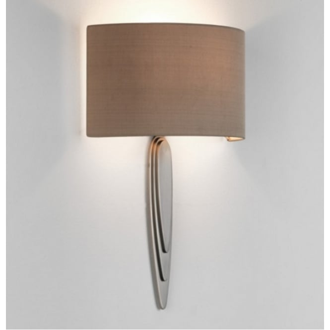 Astro Lighting Interior Wall Light Fitting In Matt Nickel Finish GAUDI 7964