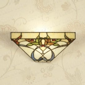 Alcea WF1 andTG102W Single Tiffany Wall Light