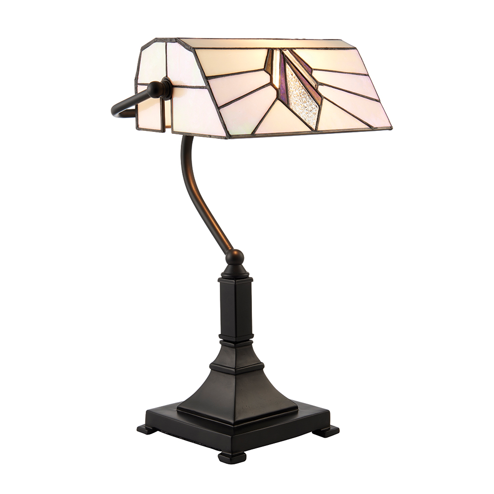 Interiors 1900 astoria tiffany bankers table lamp in art deco style astoria tiffany bankers table lamp in art deco style 70909 aloadofball