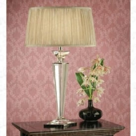 Porter Rhodes Table Lamp with Cream Shade