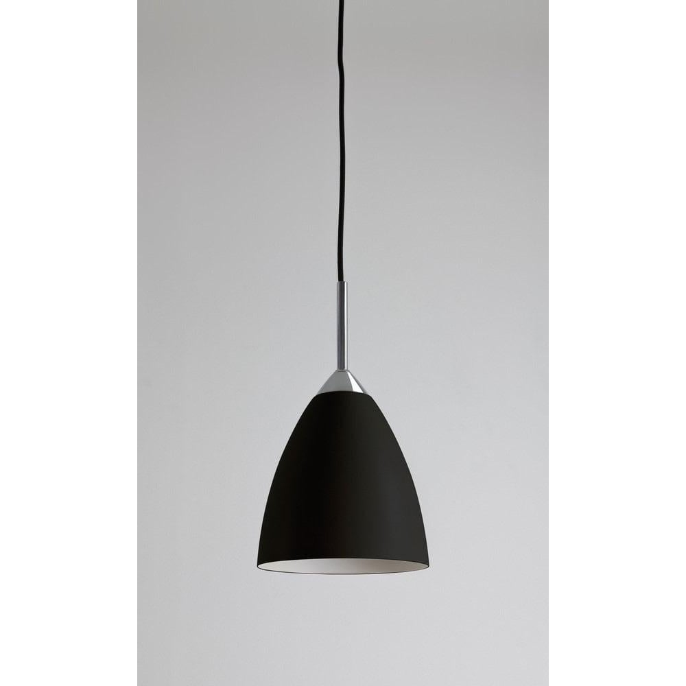 Joel 170 ceiling pendant light in black finish 1223018