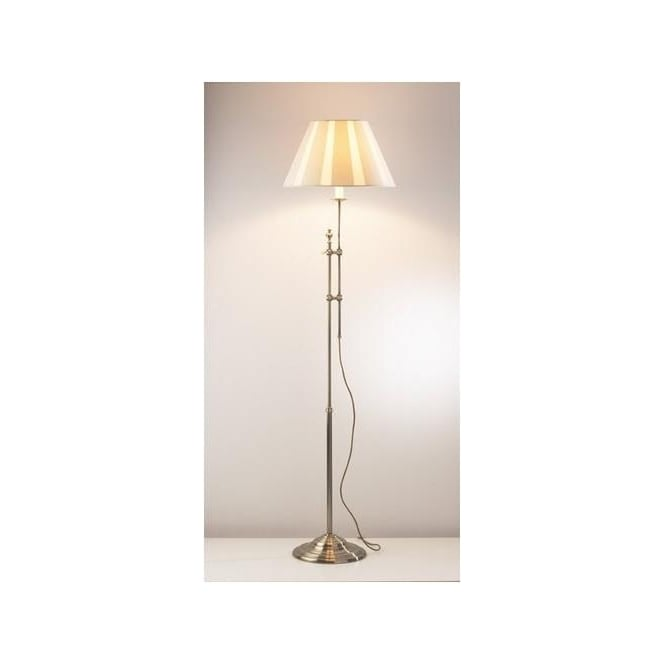 Dar Lighting KNI4975 Knightsbridge Adjustable Floor Lamp