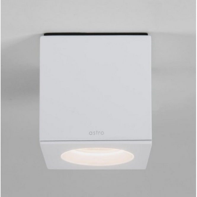 Astro Lighting Kos Modern Square Downlight in White Finish 7511