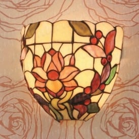 Laurelle TV133W Tiffany Wall Light