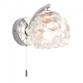 Lawcross Bathroom Wall Light in Chrome Finish 55160
