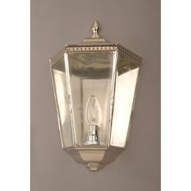 Windsor Nickel 1 Light Passage Wall Light Lantern