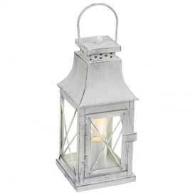 Lisburn Vintage Table Lantern In Grey Finish 49294