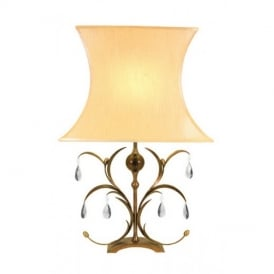 LL/TL Lily metallic bronze table lamp