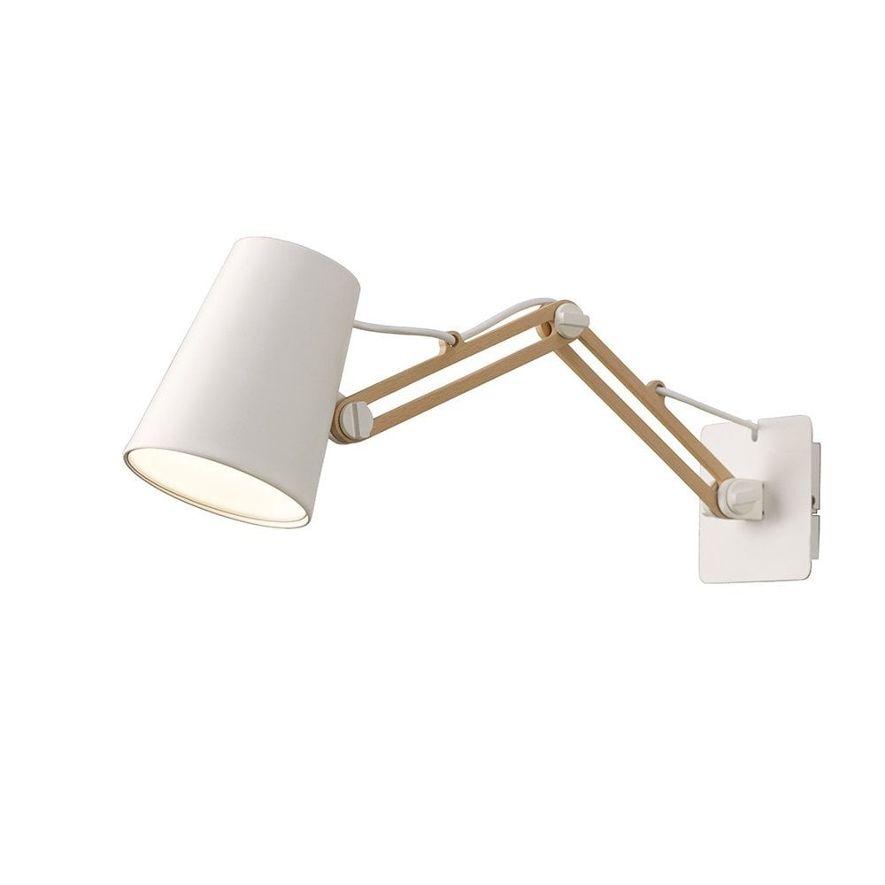 Mantra Lighting Looker Funky Extendable Wall Light In ...
