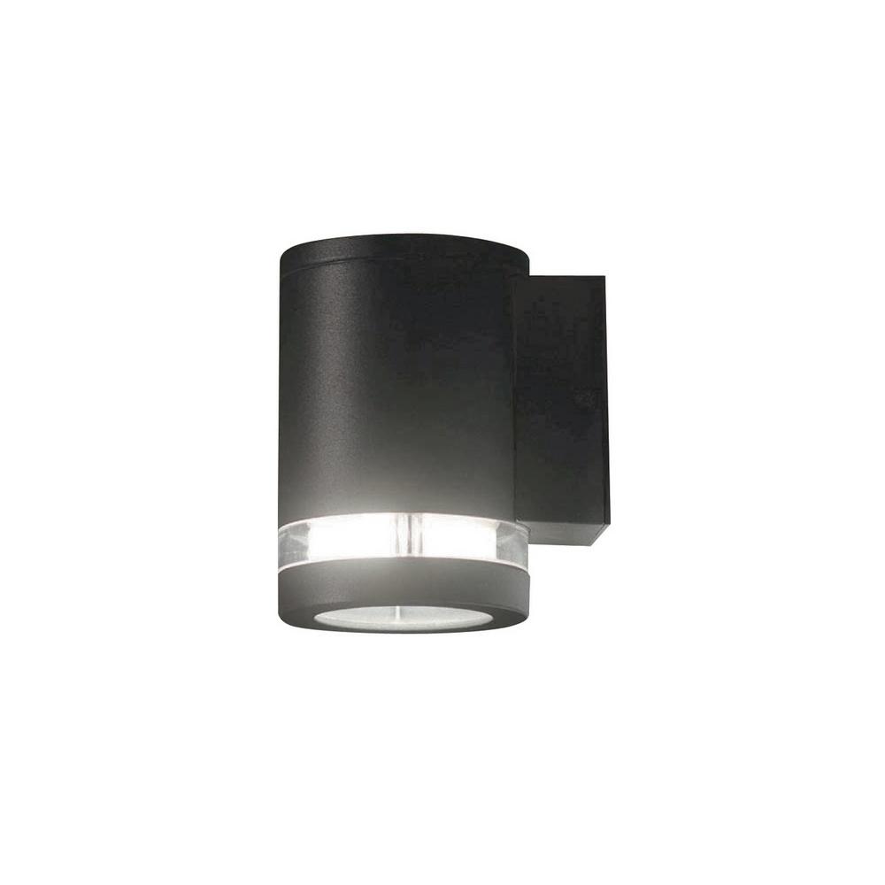 Exterior Garage Downlights: Lutec Lighting UT/FOCUS/6047 Exterior 1 Light Graphite