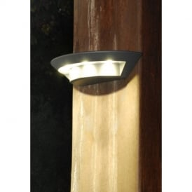UT/GHOST/1880S Exterior LED Graphite Small Wall Lamp