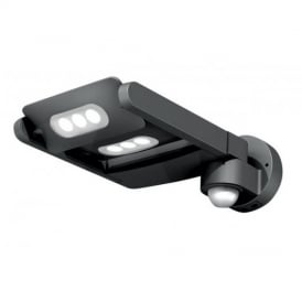 UT/LEDSPOT/6-PIR Exterior Sensor LED Graphite Wall Light