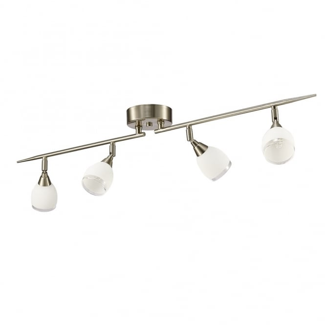 Ceiling Bar Light Fitting : Franklite lighting lutina light ceiling bar fitting in