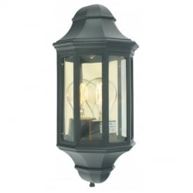 M8/2 Mini Malaga flush wall lantern, IP43