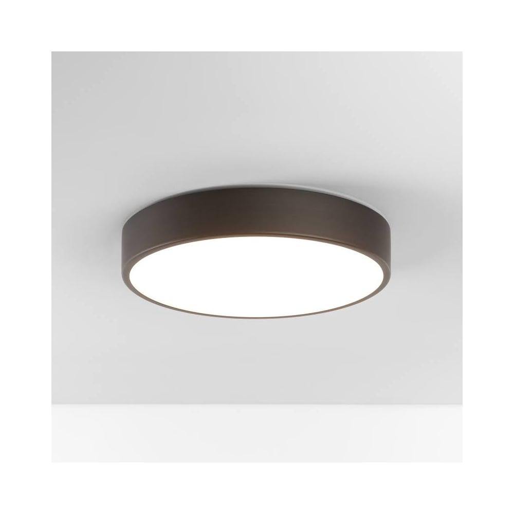 Astro Lighting Mallon Round Bathroom Flush Ceiling Light In Bronze Finish 1125006 Lighting From The Home Lighting Centre Uk