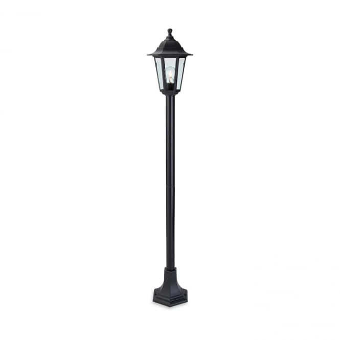 Firstlight Malmo Outdoor Post Lamp In Black Resin Finish 8351