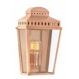 Mansion House Outdoor Polished Copper Lantern