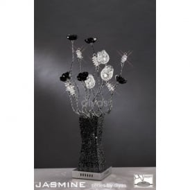 IL70063 Jasmine 4 Light Table Lamp