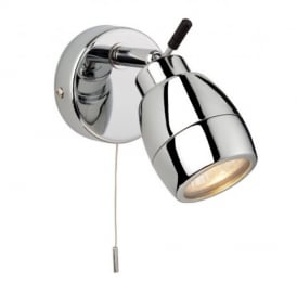 Marine Chrome 1 Way Bathroom Wall Spotlight 9501CH