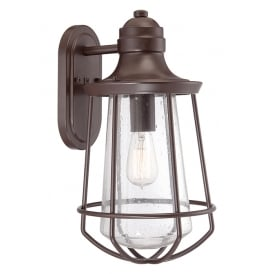 Marine Outdoor Large Wall Lantern In Western Bronze Finish QZ/MARINE/L