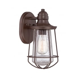 Marine Outdoor Small Wall Lantern In Western Bronze Finish QZ/MARINE/S