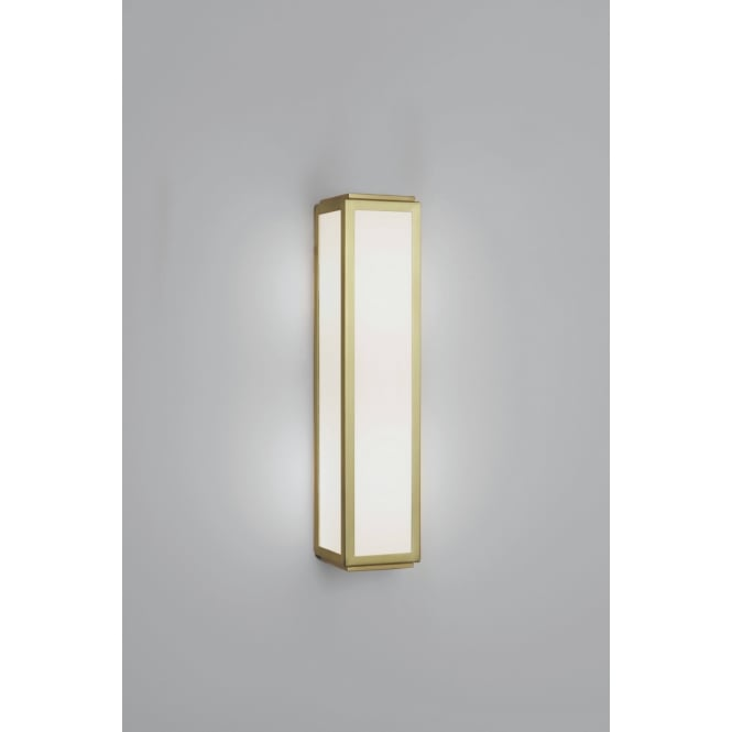 Astro Lighting Mashiko Classic 360 Modern Bathroom LED Wall Light In Matt Gold Finish 7801