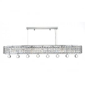 MAT0650 Matrix 6 Light Ceiling Light in Polished Chrome