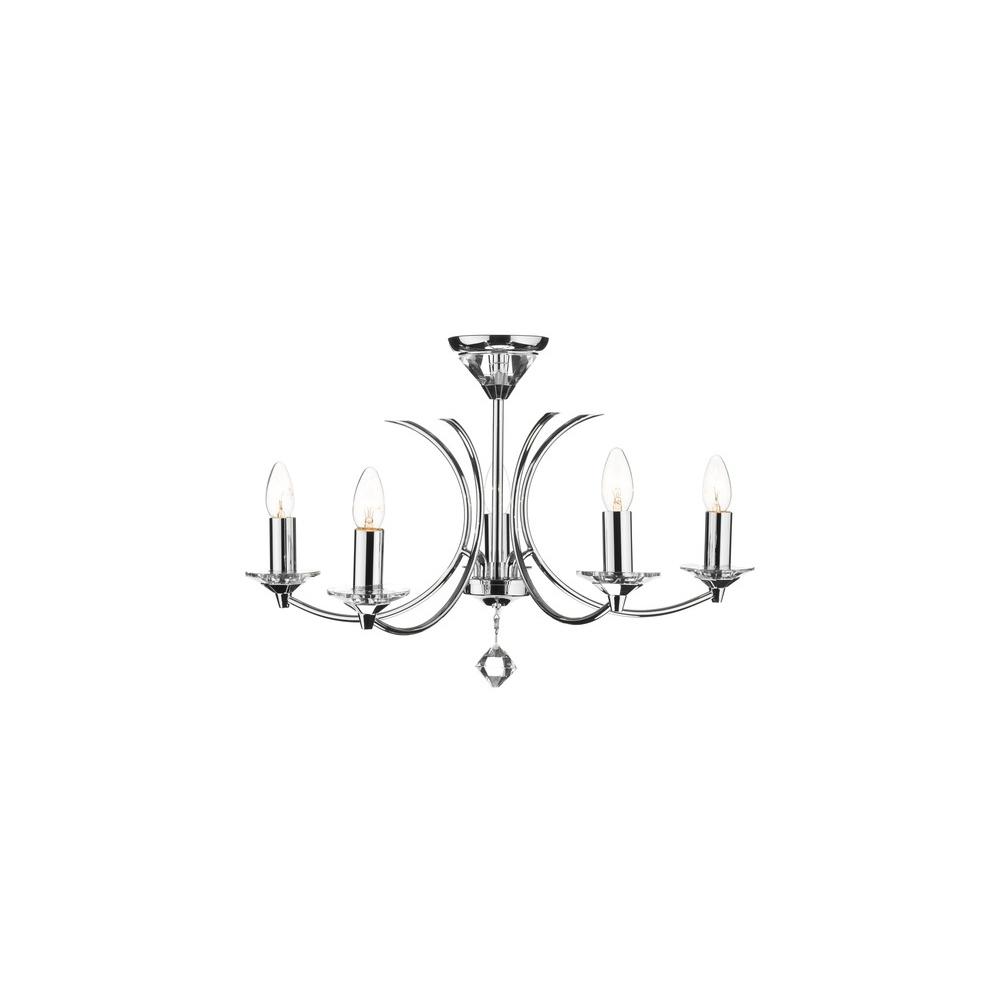 Dar lighting med0550 medusa pendant ceiling light in polished chrome med0550 medusa pendant ceiling light in polished chrome aloadofball Images