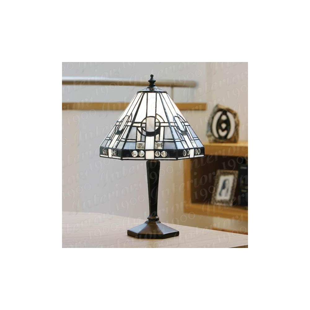 Astonishing Metropolitan Db133S And Tm25S Small Tiffany Table Lamp Brass Best Image Libraries Sapebelowcountryjoecom
